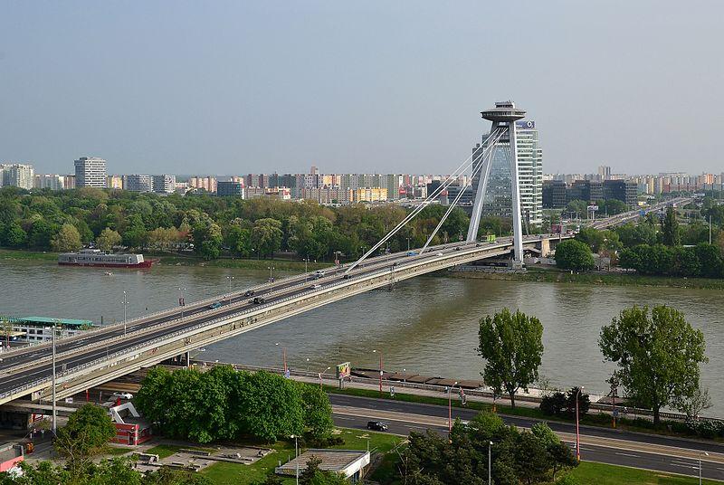 Most SNP, Bratislava (by Pudelek)