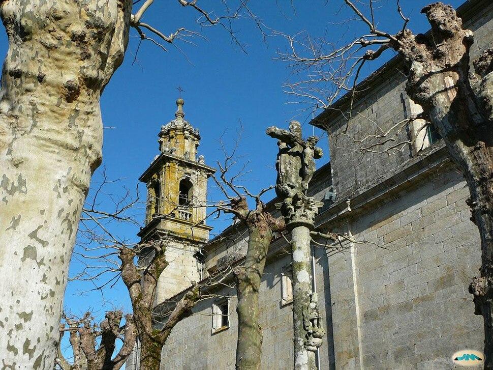 Mosteiro de Poio. Cruceiro