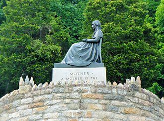Ashland, Pennsylvania - The Mothers' Memorial in Ashland