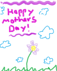 Happy Mother's Day Card.