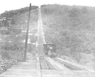 History of the roller coaster - Mount Pisgah with the Mauch Chunk Switchback Railway.