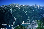 Mount Tate and Mount Tsurugi 2001-09-23.jpg