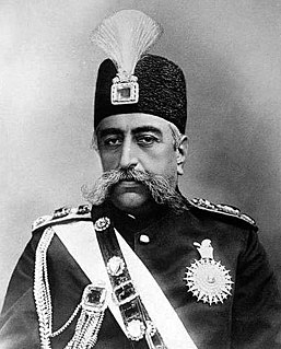Mozaffar ad-Din Shah Qajar Shah of Persia