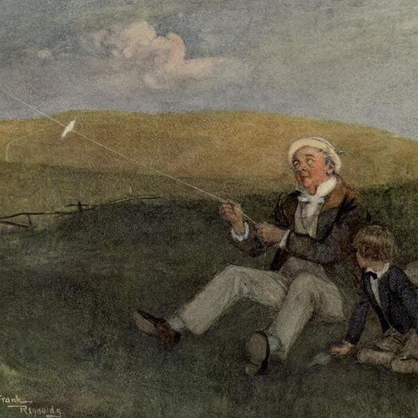 File:Mr. Dick and his kite, from David Copperfield art by Frank Reynolds.jpg