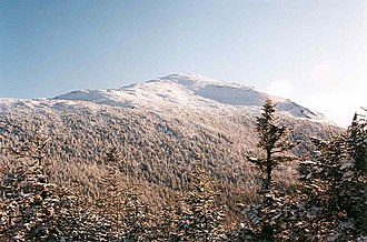 Mount Marcy - Image: Mt Marcy summit seen from near Little Marcy NY