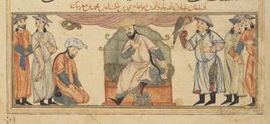 Muhammad I Tapar - Muhammad I Tapar and his court
