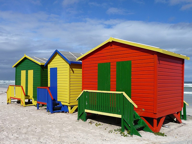 Muizenberg's beautiful beach