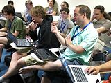 Multimedia Roundtable - Wikimania 2013 - 07.jpg