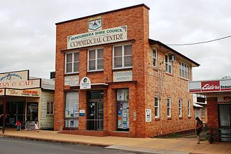 North Burnett Region - Council service centre, 2008