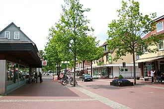 Munster, Lower Saxony - Wilhelm-Bockelmann-Straße, the main shopping street