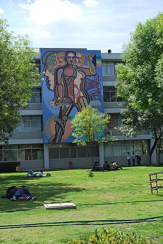Arnold Belkin - Belkin mural at the Universidad Autónoma Metropolitana in Iztapalapa