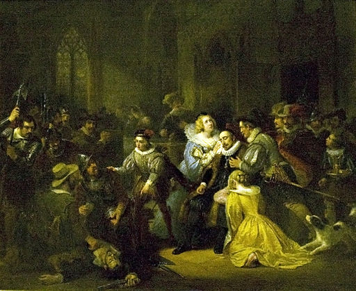 Murder attempt against William the Silent in 1582
