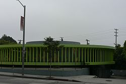 Mutato Muzika building on Sunset Boulevard
