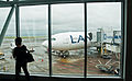 My plane for Santiago, Auckland, 27th. Dec. 2010 - Flickr - PhillipC.jpg