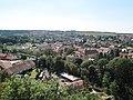 Náměšť nad Oslavou, pohled od zámku.jpg