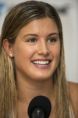 Nürnberger Versicherungscup 2014-Eugenie Bouchard by 2eight DSC4815.jpg