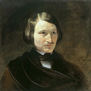 Little Russian identity - Image: N.Gogol by F.Moller (early 1840s, Ivanovo)