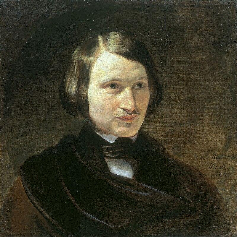 N.Gogol by F.Moller (early 1840s, Ivanovo).jpg