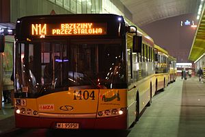 Transport in Warsaw - Solaris Urbino 12 MK3