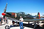 "N163BP 1945 Bell P-63C Kingcobra C-N 091263RP 42-68864 ""Pretty Dolly"" (15460758341).jpg"