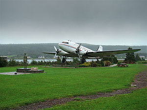 Harbour Grace - The Spirit of Harbour Grace and monument to Amelia Earhart