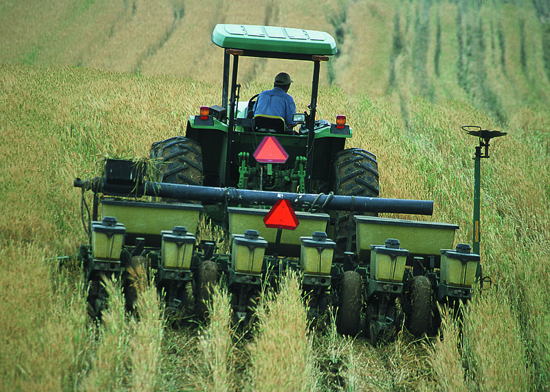 No-Till agriculture may hamper yield
