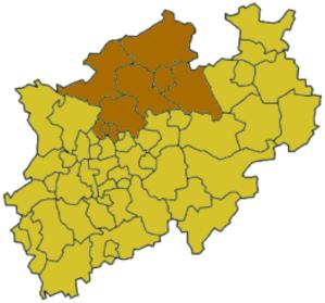 Münster (region) - Image: NRW rbmuenster