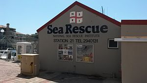 National Sea Rescue Institute - Image: NSRI Station 21 001