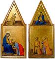 Naddo Ceccarelli. L'Annonciation & L'Adoration des Mages. Tours, Museum of Fine art..jpg