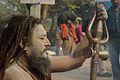 Naga Sadhu - Gangasagar Fair Transit Camp - Kolkata 2013-01-12 2826.JPG