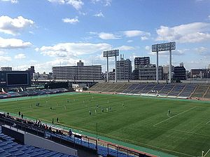 Kincho Stadium - Nagai Ball Gall Field after the first renovation