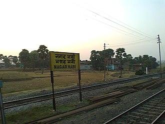 Nagarnabi railway station - West Side Of Station