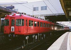 名古屋鉄道5500形 日本初の通勤形冷房車 量産車としては日本国内初となる料金不要冷房車の運行を開始