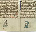 Naked man with spots; woman with red eyes, 14th C Wellcome L0037335.jpg