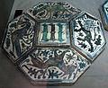 Napoli, quindici mattonelle dalla cappella caracciolo in San Giovanni a Carbonara, 1435 ca. 01.JPG