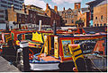 Narrowboats Moored in Gas Street Basin. - geograph.org.uk - 127483.jpg