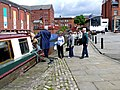 Narrowboats in the Castlefield Basin of the Bridgewater Canal.jpg