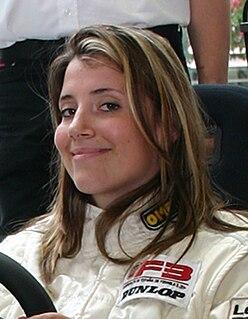 Natacha Gachnang Swiss racing driver