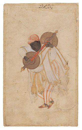 Naubat Khan - Naubat Khan the Vina Player, Museum of Fine Arts, Boston