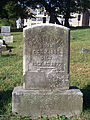 Neal (Robert), St. Clair Cemetery, 2015-10-06, 01.jpg