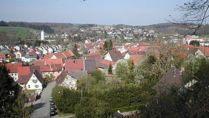 Neidenstein - View of the town