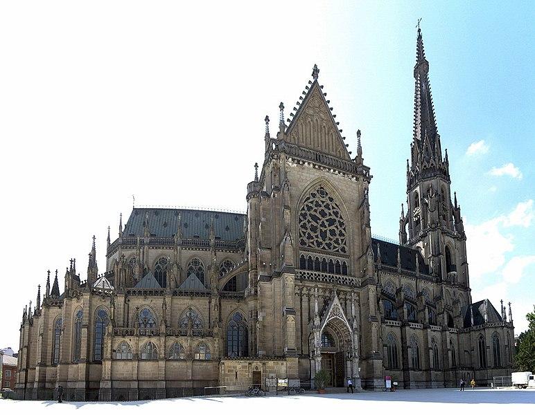 """""""Mariä-Empfängnis-Dom"""" oder """"Neuer Dom"""" in Linz, Österreich"""