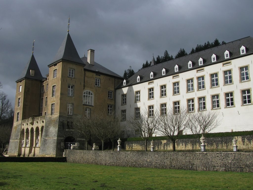 New castle, Ansembourg, Luxembourg