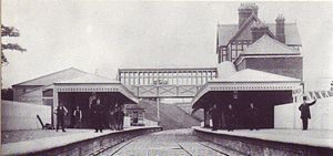 Newick and Chailey railway station - Image: Newick and Chailey Station