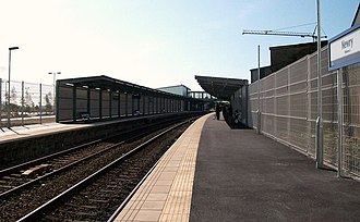 Newry railway station - Image: Newry Station geograph.org.uk 1477406
