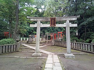 Nezu Shrine - Image: Nezu jinja Torii 4