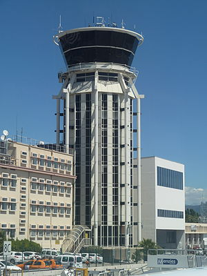 Nice Côte d'Azur Airport - Control tower