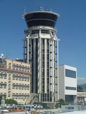 Nice Côte d'Azur Airport - Control tower