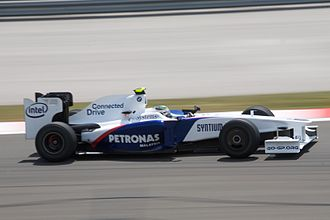 2009 Turkish Grand Prix - Nick Heidfeld qualified his BMW Sauber in eleventh position.