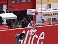 Nicky Hayden at the Repsol Honda Team garage 2006 Mugello.jpg